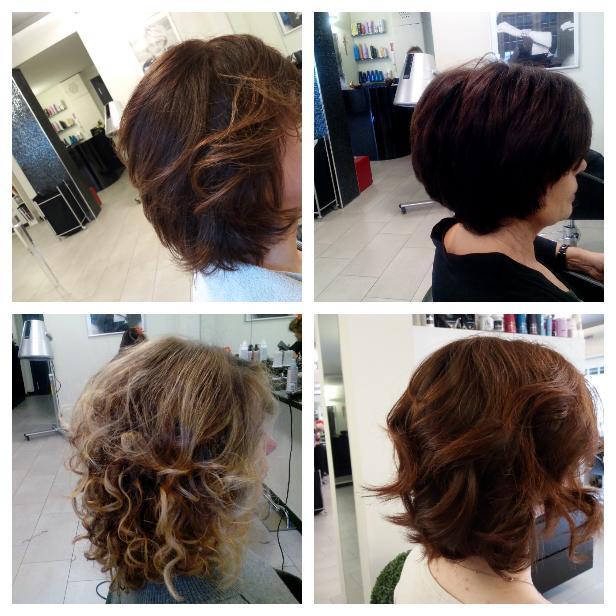 4 look capelli medi/corti