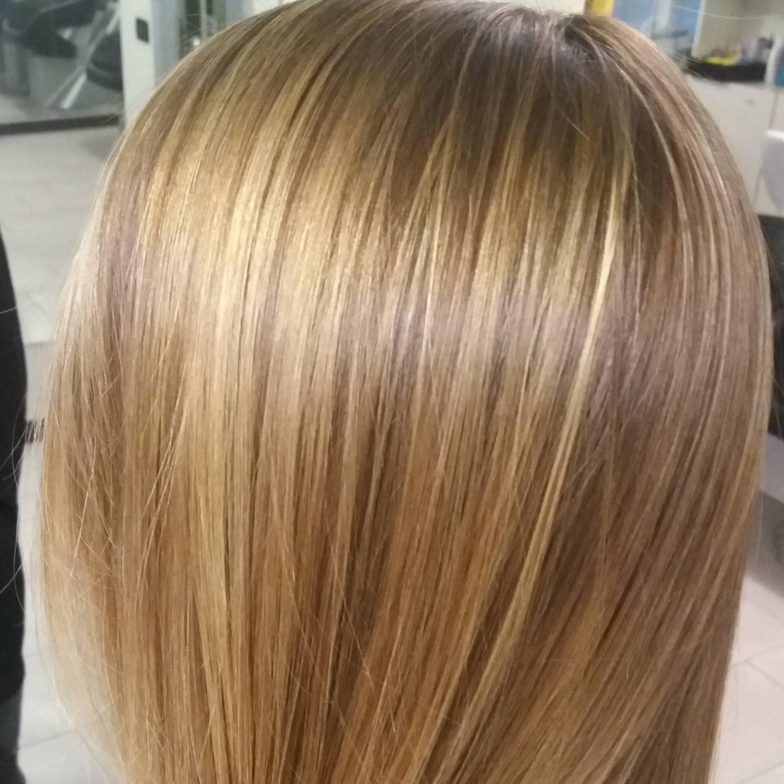 Degradè biondo capelli lunghi